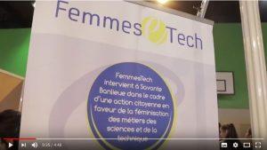 Lien vers la vidéo Femmes Tech