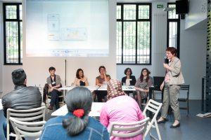 Rencontre échange organisé par Martina Kost et le Comité de promotion de droit des femmes, à la Maison de la Citoyenneté